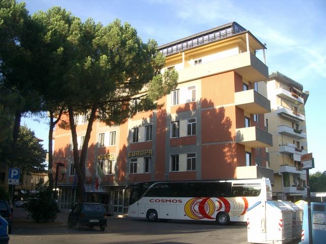 19日目 HOTEL EUROPAに到着@トスカーナ地方 イタリア