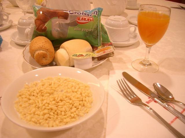 19日目 ホテル内のレストランで朝食そしてベネチアへ@イタリア