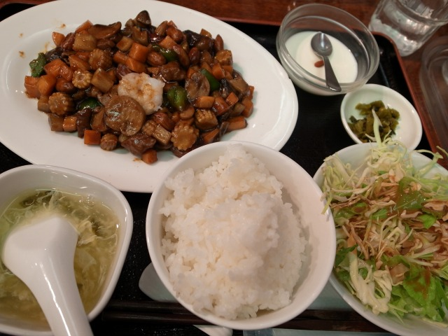 横浜中華ダイニング 福縁酒家で「八宝辛味炒め」を食べました@渋谷