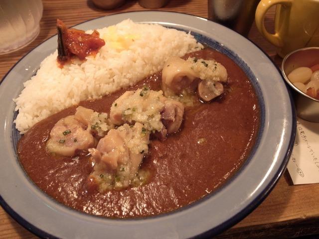 もーやんカレーで「豚足カレー」を食べました@渋谷 宮益坂