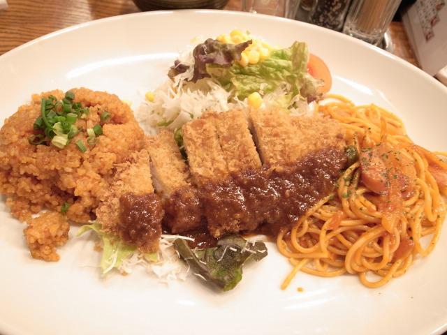 キッチンジローで「トルコライス」を食べました@渋谷