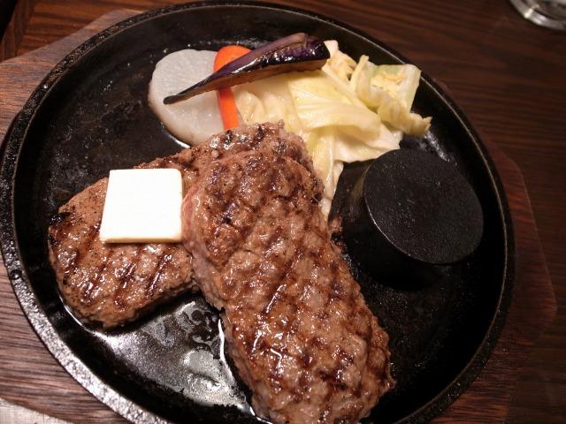 和牛ハンバーグ専門店 智で「和牛ハンバーグ焦がしバター醤油だれ」を食べました@渋谷