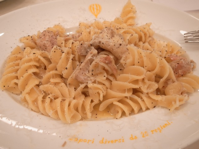 goo ITALIANOで「フッジローニ ラグー ポッロ」を食べました@渋谷