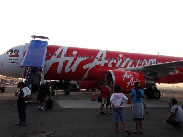 7日目 バリ島からジャワ島(ジョグジャカルタ)へ移動@エア・アジア