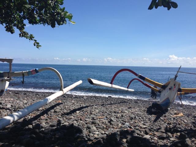 3日目 OW海洋実習でトランベンのコーラルガーデンと沈船へ@バリ島