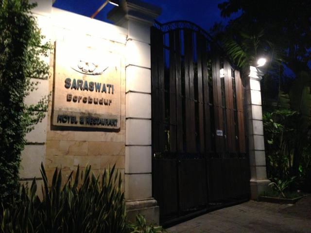 7日目 Saraswati Borobudurホテルへ@ボロブドゥール