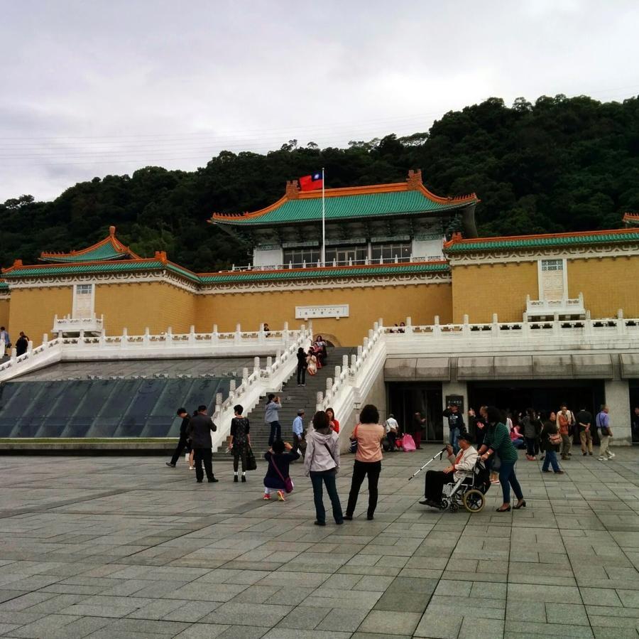 台湾2日目 中正記念堂、故宮博物院、スターバックスへ