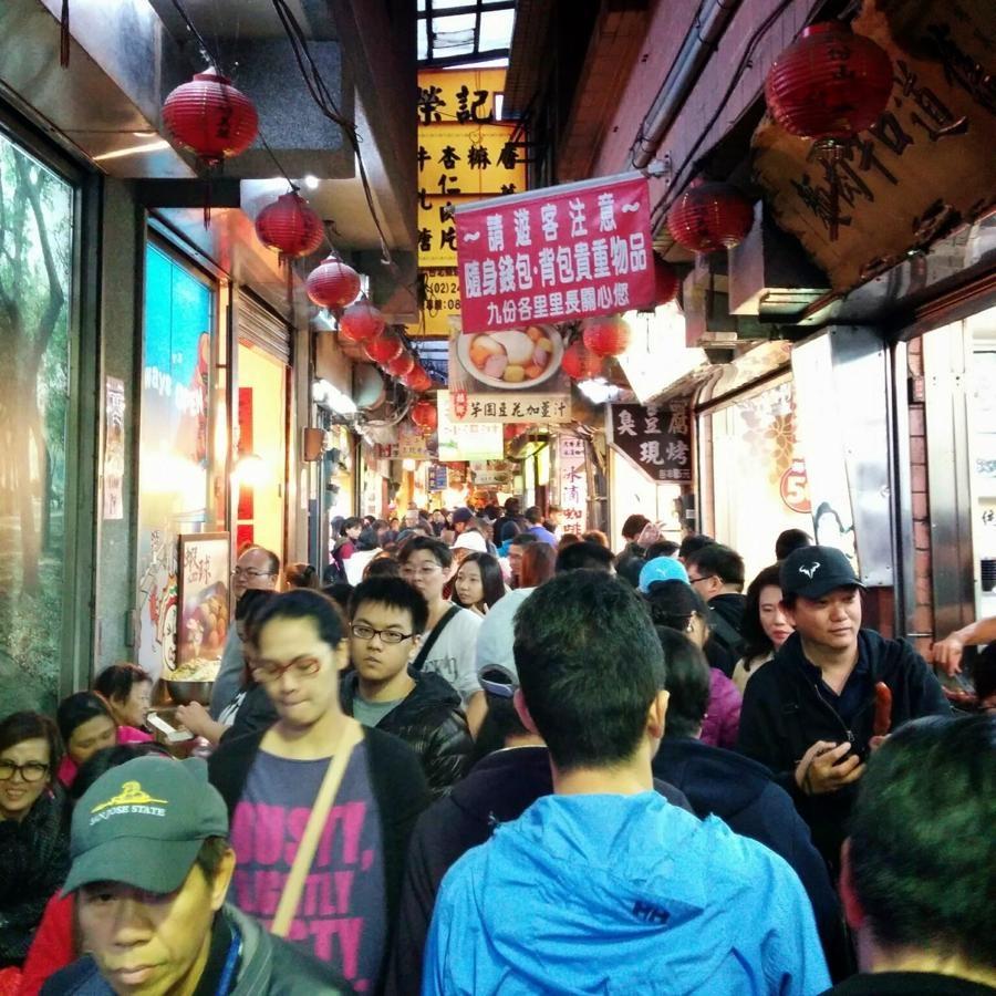 台湾2日目 電車とバスで故宮博物院から九份(きゅうふん)へ