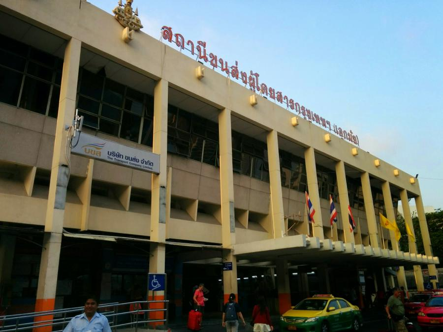 バンコク、エカマイからパタヤまでバスで移動!
