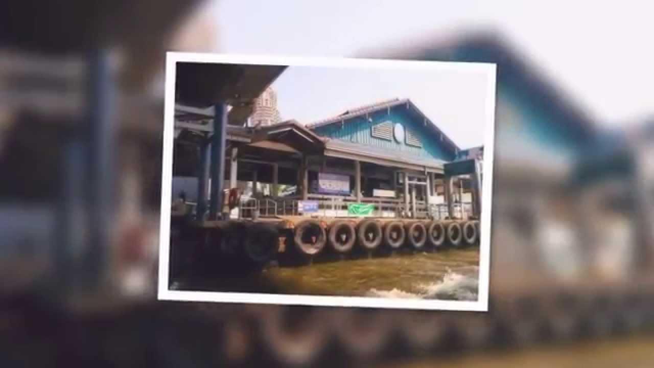 バンコクの運河乗合ボート セーン・セープ運河に乗ってカオサン通りへ