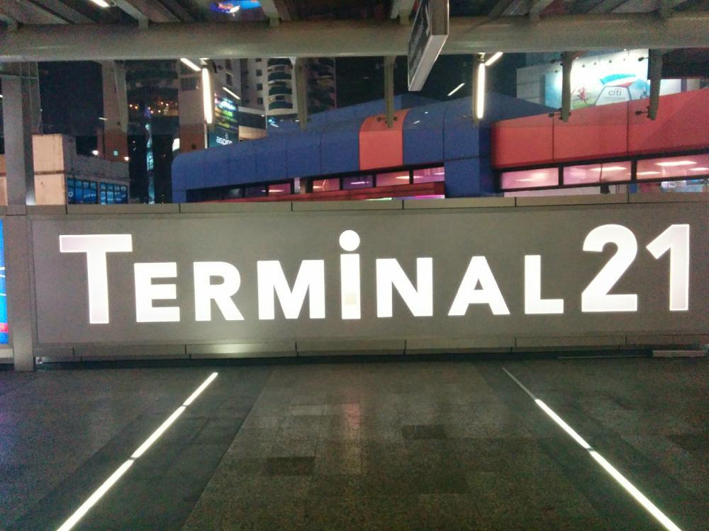 Terminal21のフードコートで晩御飯@タイ、バンコク