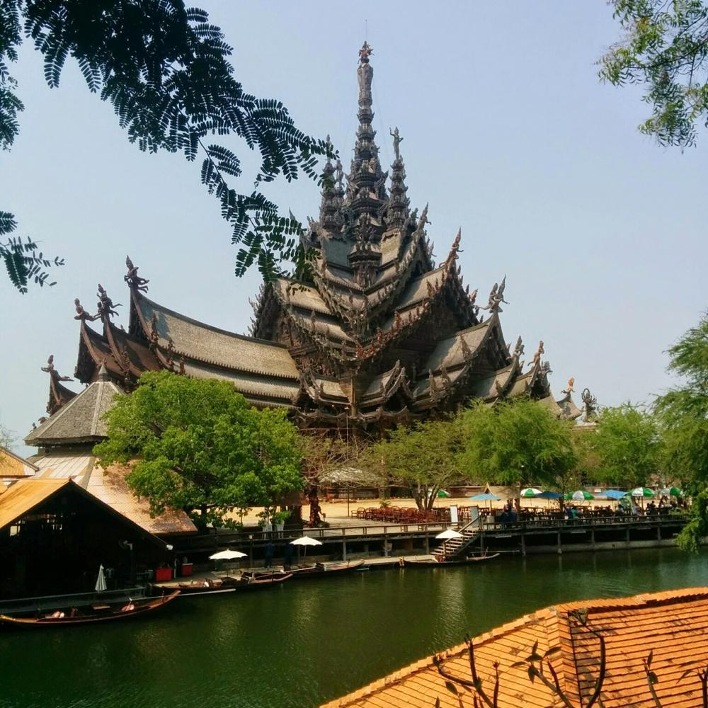 The Sanctuary of Trues(真実の聖域)へ@タイ、パタヤ