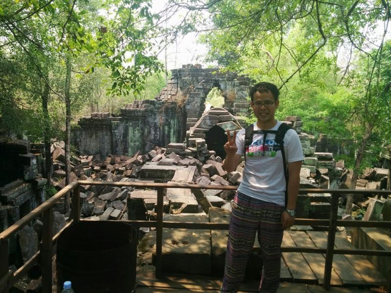 天空の城ラピュタのモデルになったベンメリアへ@カンボジア