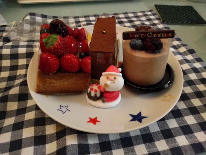 クリスマス・イブイブにマダム・トキのケーキでお祝い!