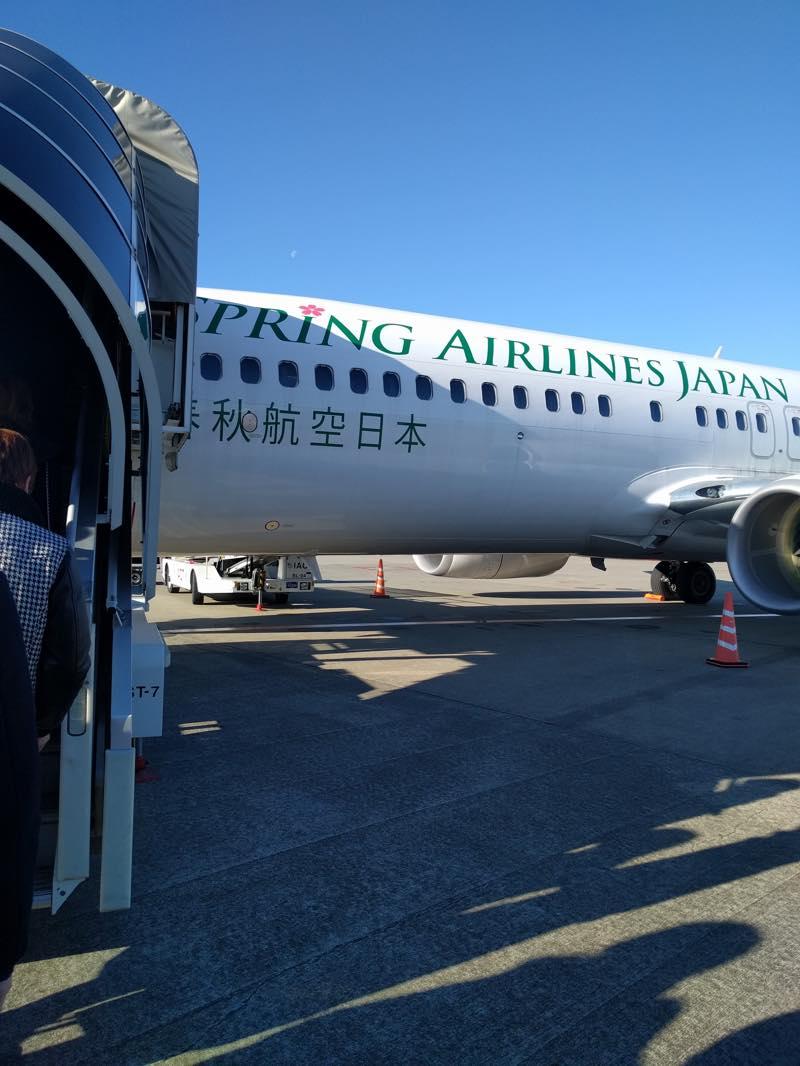 高速バスで東京駅から成田空港へ LCC春秋航空で広島空港へ