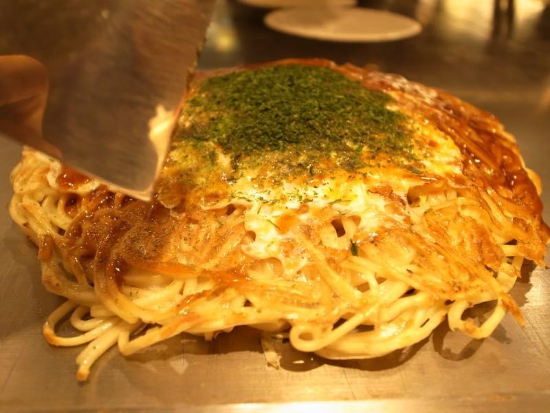 広島に来たので、お好み焼き!@みっちゃん総本店 雅 そごう広島店