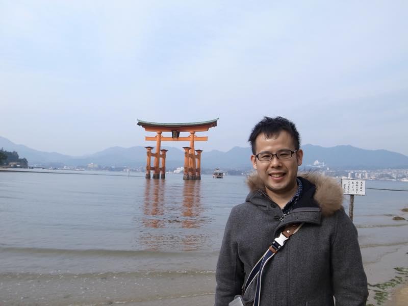 2016年の初詣は宮島の厳島神社で