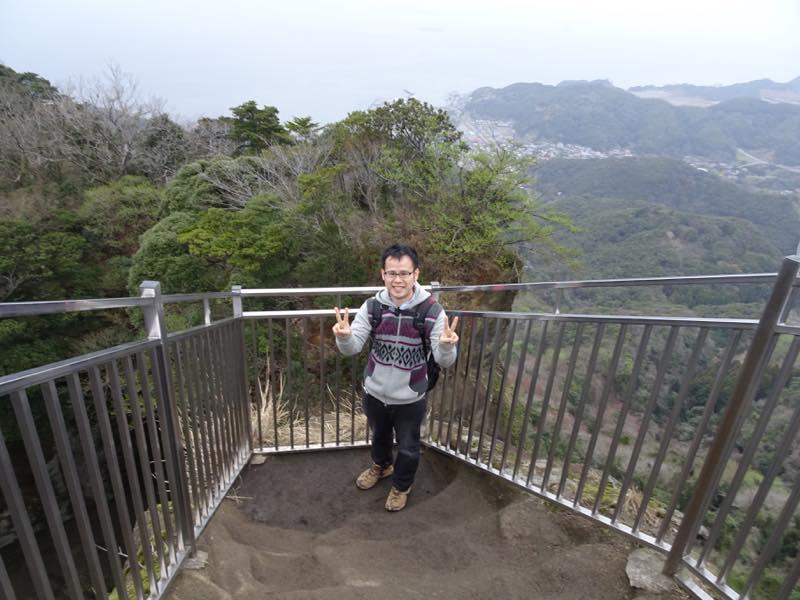 鋸山へ登山 都内から東京湾フェリー(久里浜〜金谷)を使って