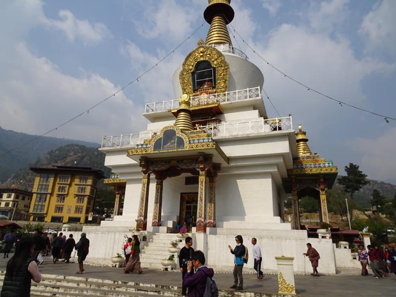 ブータン、首都ディンプーを観光!! その1(ターキン、チャンガン・カラン、メモリアルチョルテン、Kuenselphodrang、)