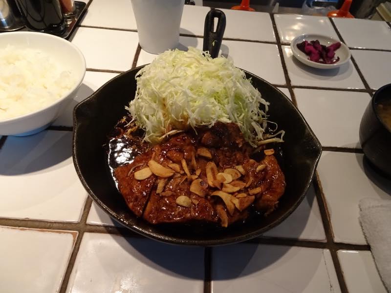 トンテキを食べに!!東京トンテキ@渋谷