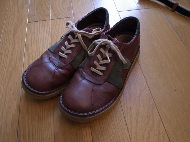 お気に入りのカンペールの靴をリペアしました!