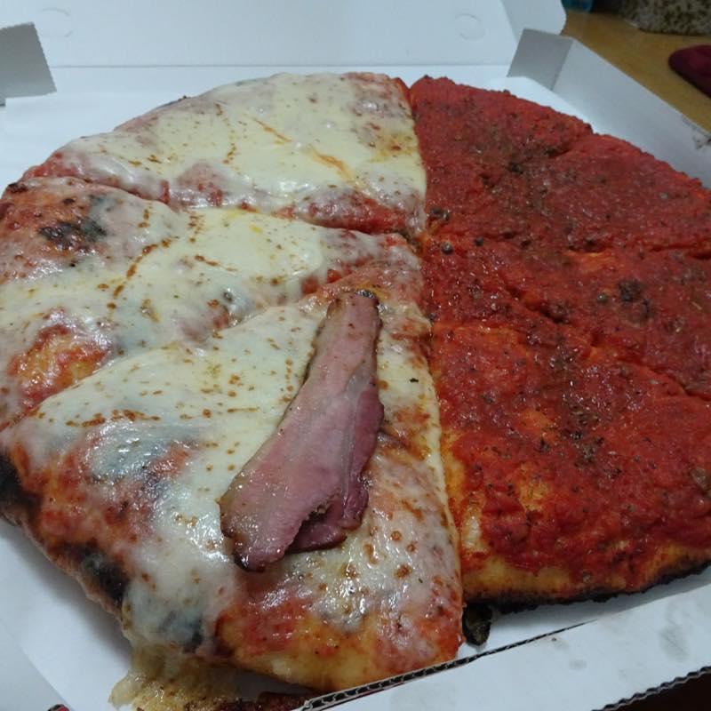 Spontini20周年ピザの日で1日限り1ピース200円!これは買い!!