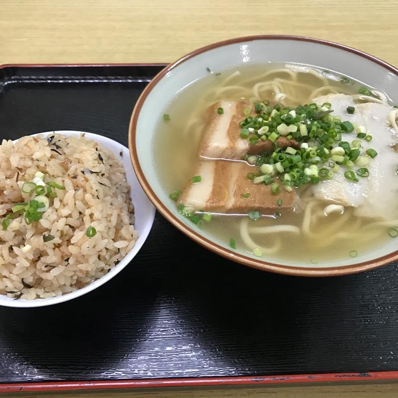 3日目 宮古そばとジューシーを食べて東京に帰る@沖縄