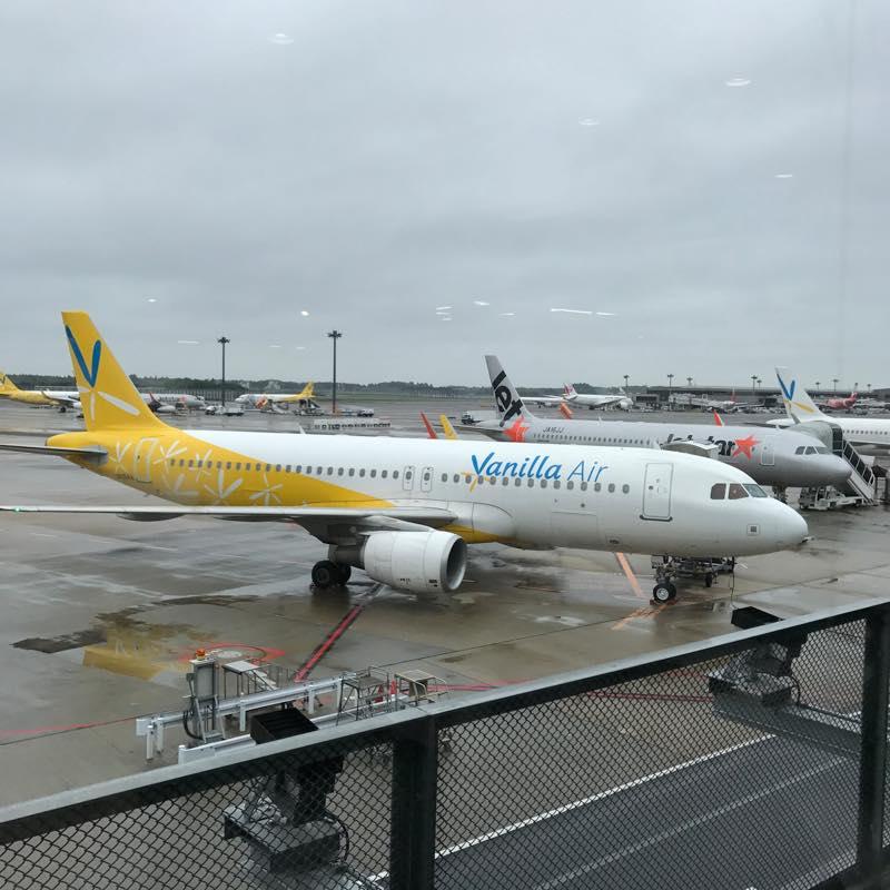 往復2.68万円!!<br/>バニラエアーで成田空港〜台湾桃園国際空港まで空の旅