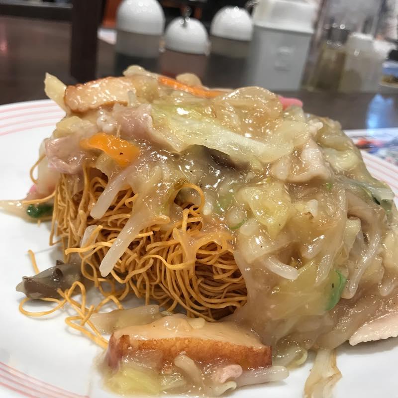「長崎皿うどん」を食べにリンガーハットへ<br/>by 静岡県小山町よりふるさと納税で頂いた商品券