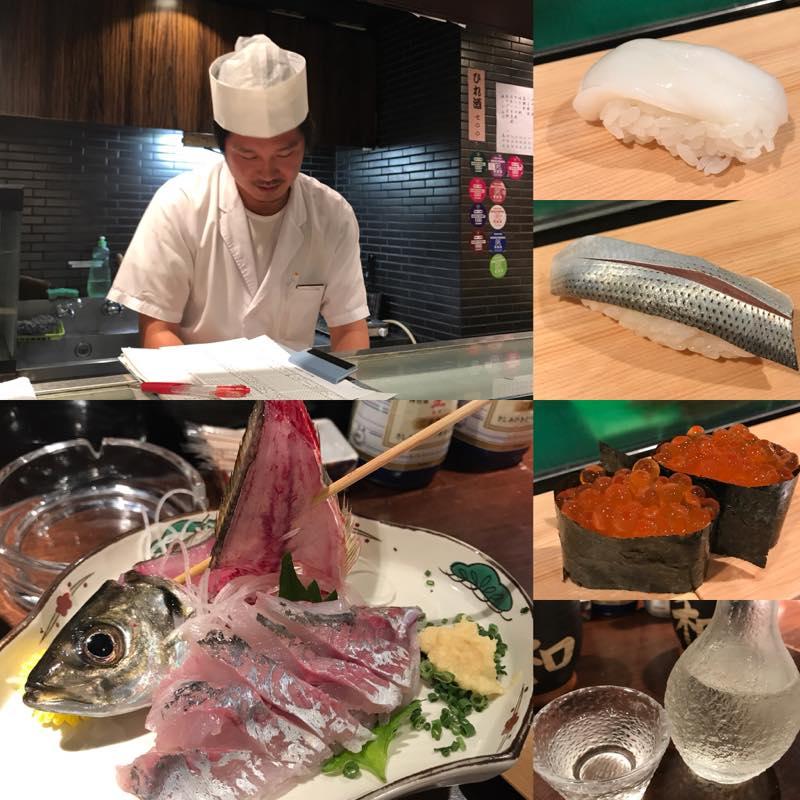 友人が寿司職人になったので、赤羽にある寿し和へ行ってきました。