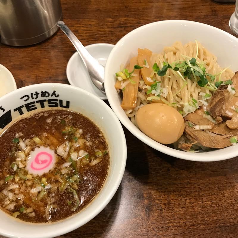 ディナーに特製つけ麺を食べる@つけめんTETSU クレリス