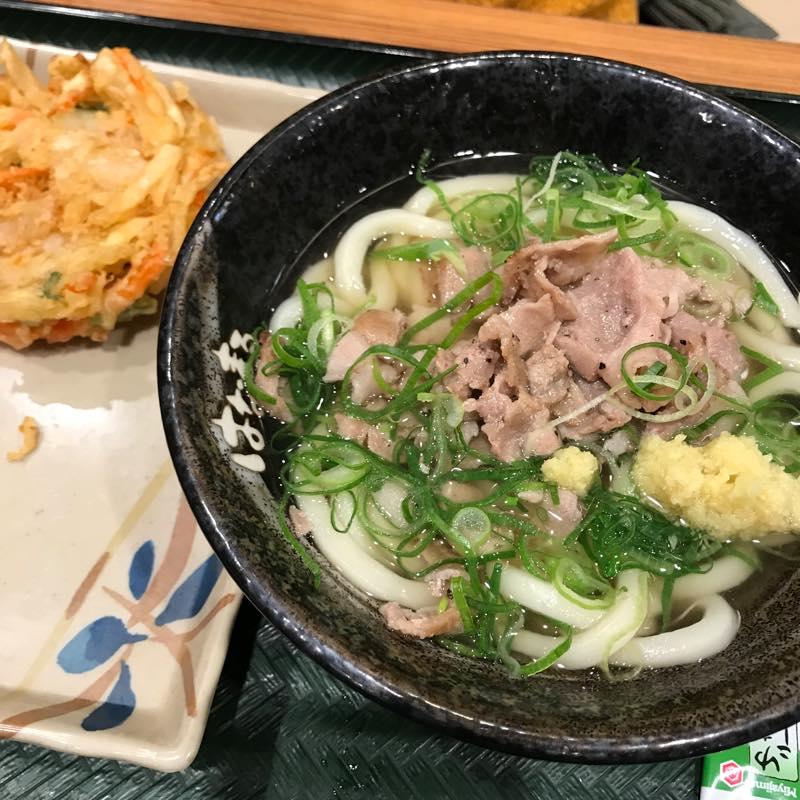 はなまるうどん、天ぷら無料になるスマホアプリ最高ですよ!!