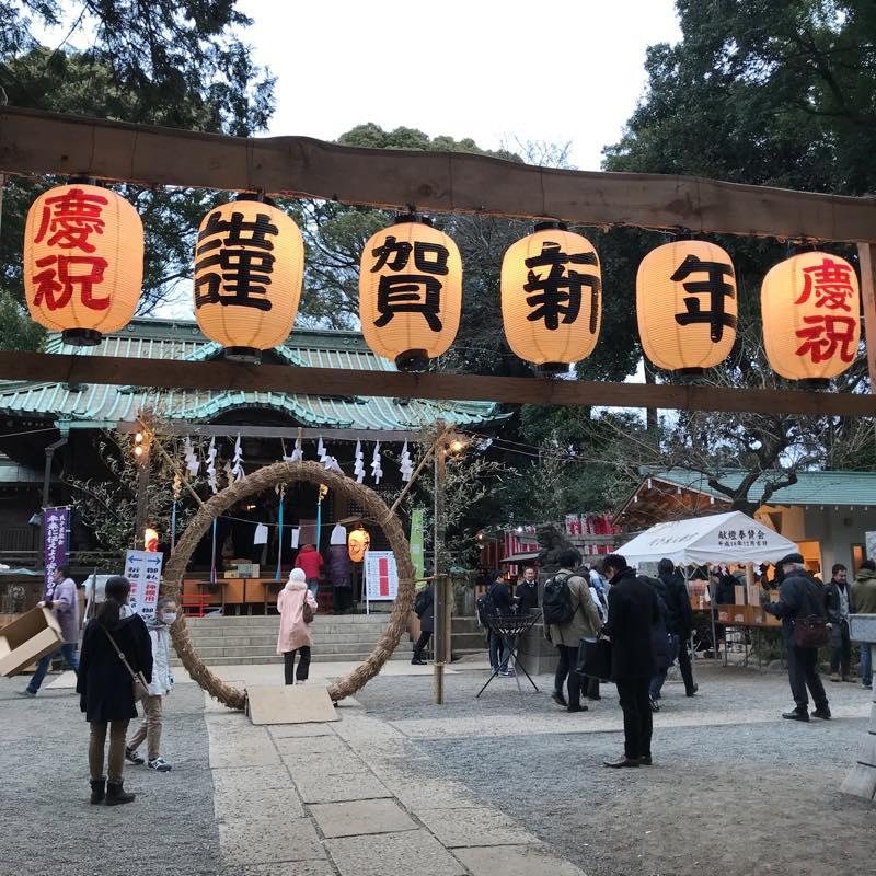 2018年の初詣!!<br>明治神宮と代々木八幡宮へ参拝!!