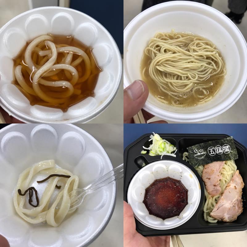 昼食がてらに、池袋サンシャインシティで開催されていた全国統一試食会へ