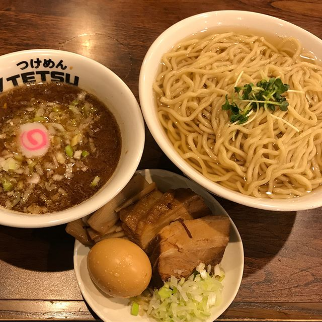 【優待ディナー】特製あつもり特盛りを頂く@つけ麺TETSU渋谷 クリエイト・レストランツ