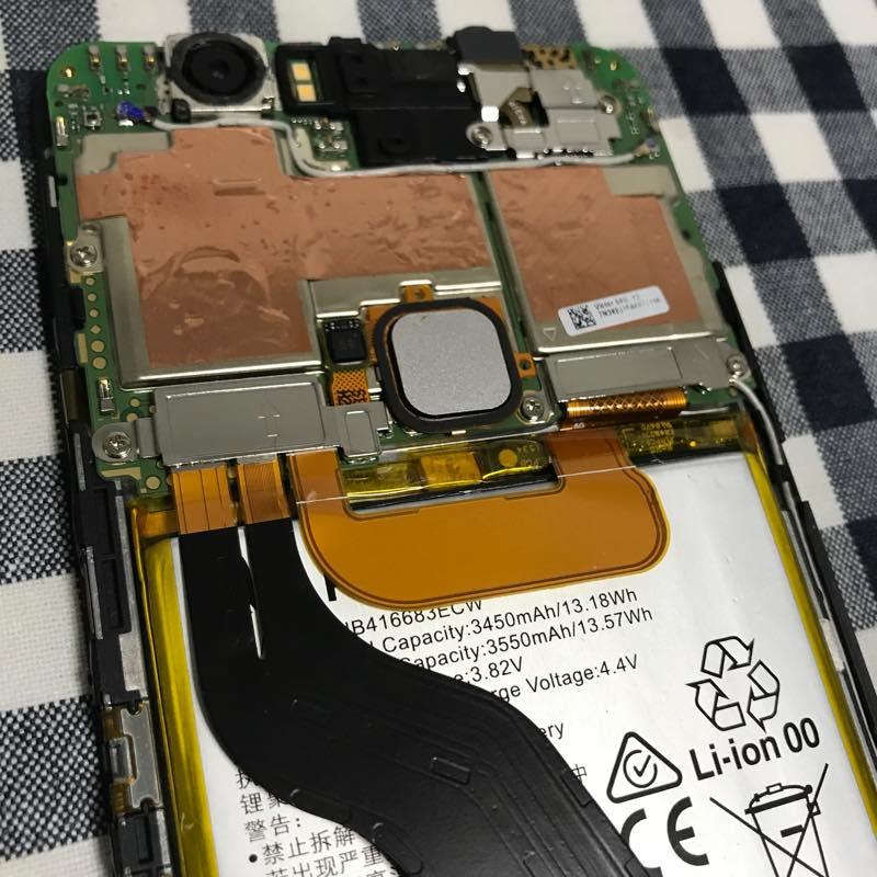 AndroidスマホのNexus6Pのバッテリーを交換!!