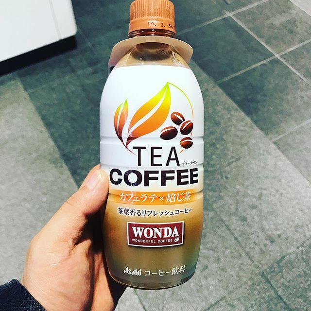 【サンプリング】渋谷109前で「WANDA TEA COFFEE カフェラテ×焙じ茶」を頂く!!