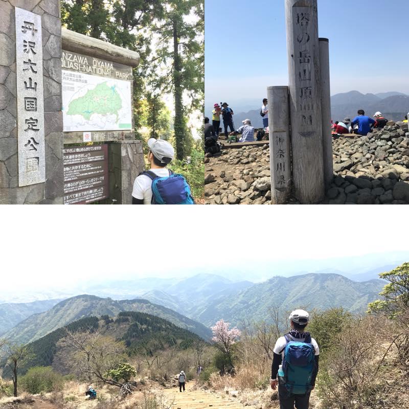 塔ノ岳へ登山!!<br>丹沢山地の南部にある標高1,491mの山