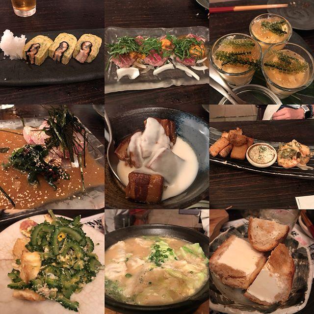 沖縄料理屋さんの「てやん亭」で懇親会。