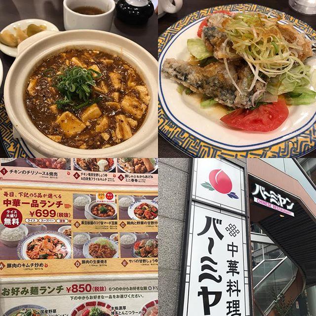 【平日優待ランチ】中華一品ランチ「サバの甘酢しょうゆ」を頂きました!!@バーミアン