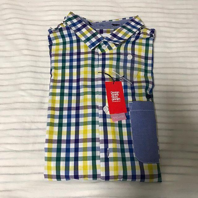 Design Tshirts Store Graniphでシャツ購入@池袋パルコ