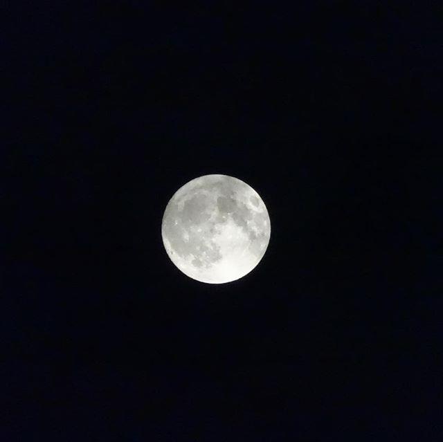 中秋の名月という事でお月さん🌕を撮影