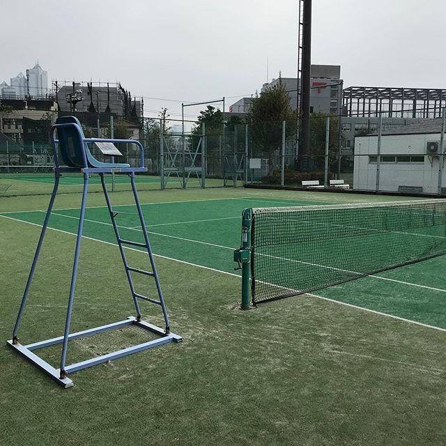 【テニス】プライベートレッスンを同僚2人で受けてきました。