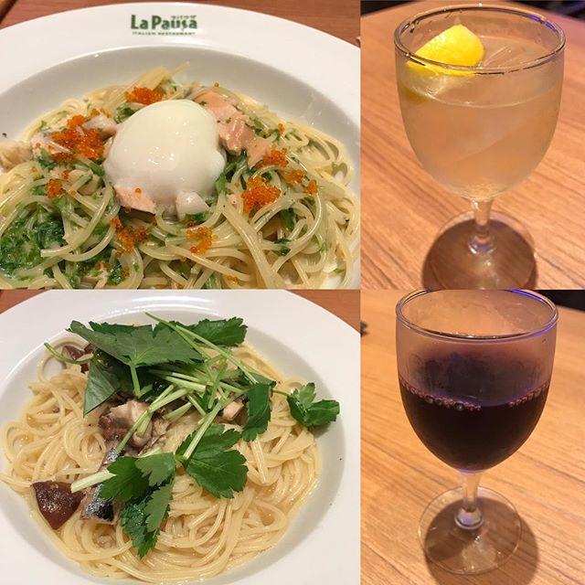 【優待ディナー】和パスタとジェノバ ピザを頂く!!@ラパウザ馬車道店