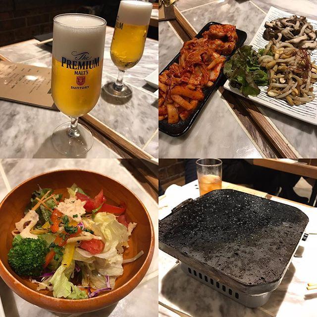 富士山の溶岩で焼き肉🍖会社のチーム懇親会@焼肉ZENIBA