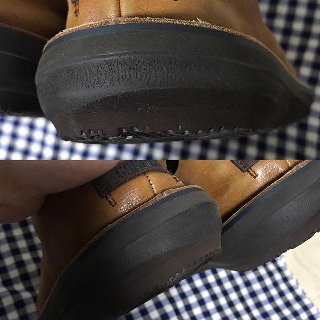 大好きなカンペールの靴をリペア❣️