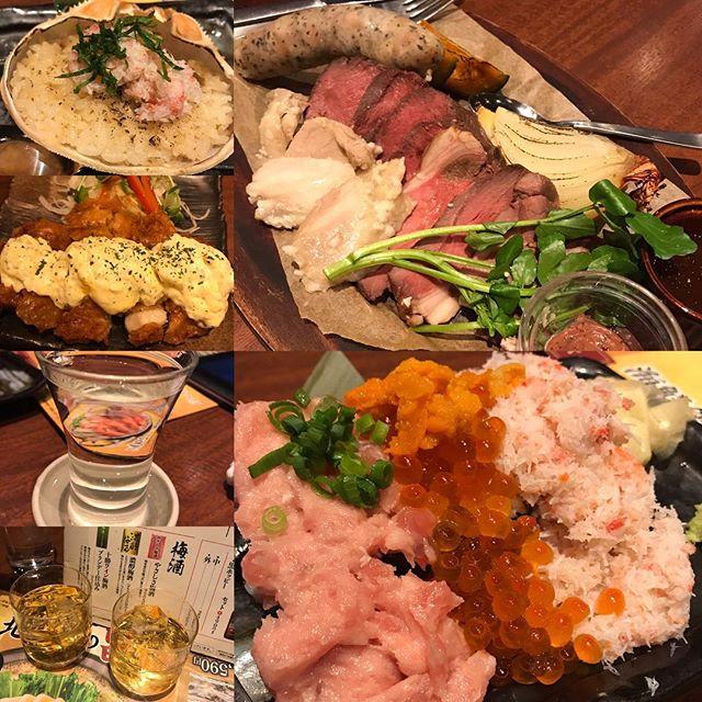 【優待ディナー】ジビエ料理  鹿、ラム、北の黄金鷄ロースト盛り合わせなど頂く@北海道 コロワイド