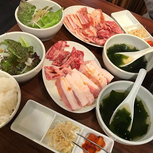 大宮へ遠征!! 焼肉万里で「トントロ&切り落としカルビ定食」頂く!!