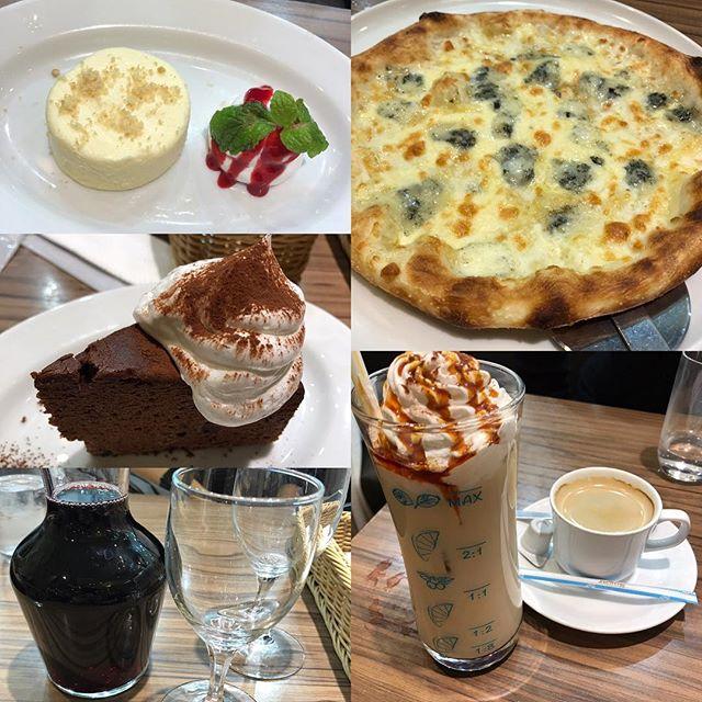 ラパウザでお茶タイム<br>新宿パレットビル店は初来店。
