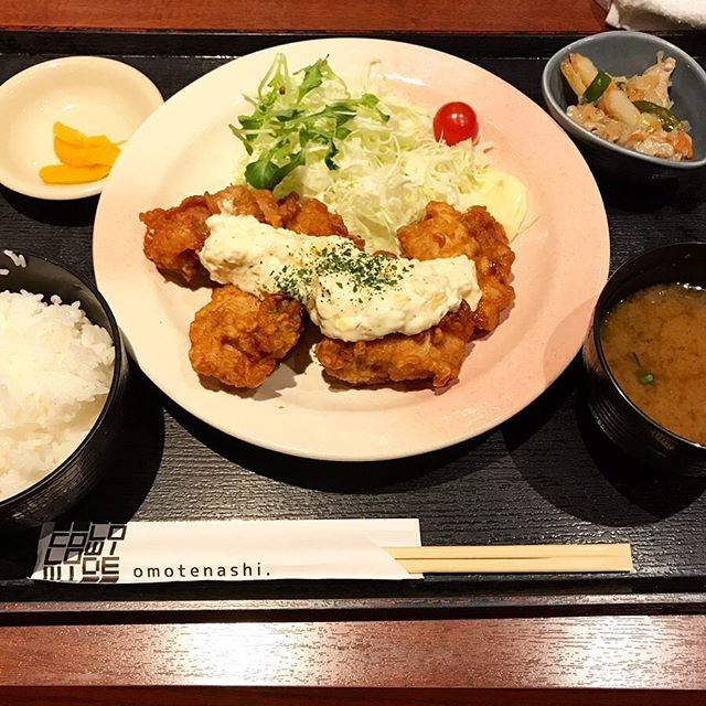 【優待ランチ】チキン南蛮定食を頂く!!@北海道